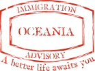 Oceania Immigration